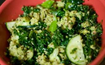 cuke kale quinoa